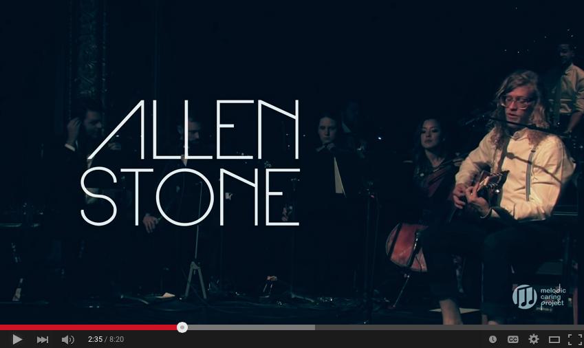 Allen Stone Streaming Live
