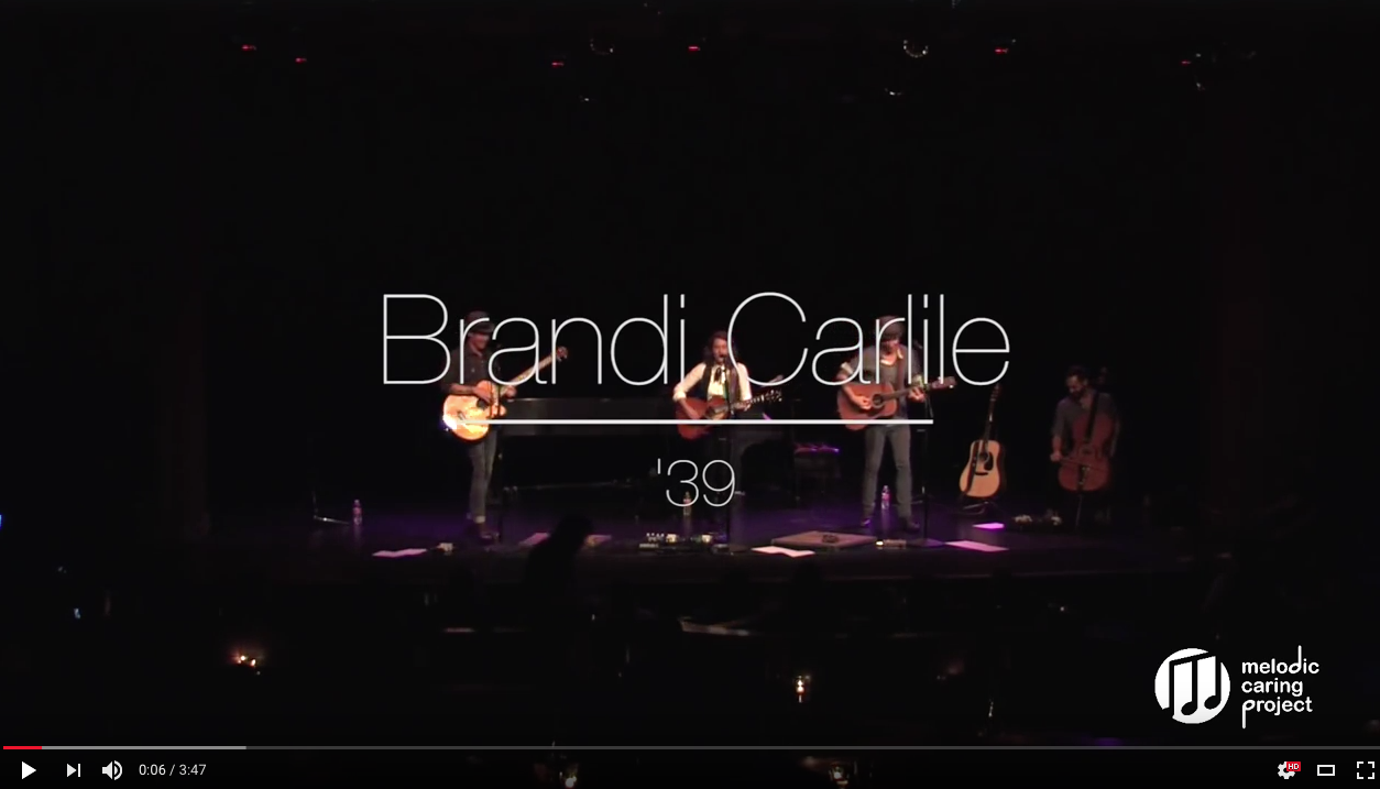 Brandi Carlile Live in Concert