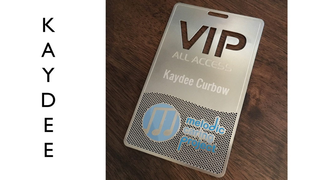 All Access VIP Pass. Melodic Caring Project RAISE A RECORD Gala. Music Theme.