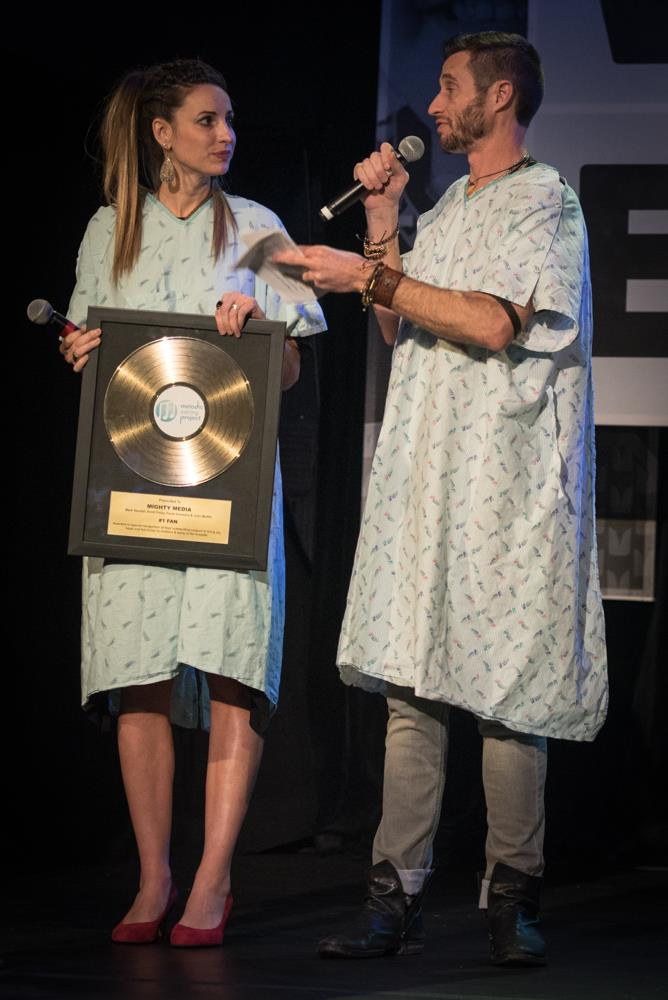 Golden Record Award. Melodic Caring Project RAISE A RECORD Gala. Music Theme.