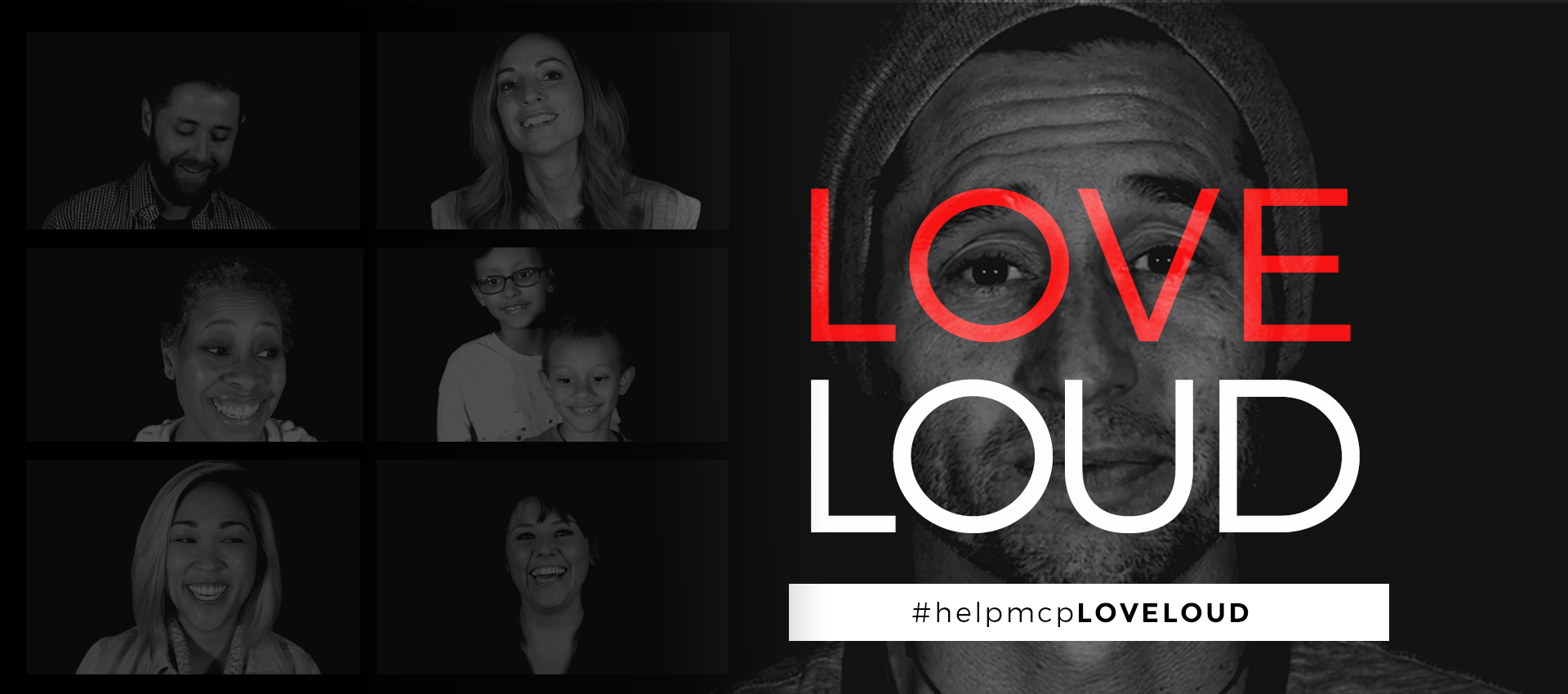 Love LOUD - #helpmcpLOVELOUD